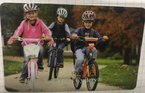 LAS VEGAS CYCLERY Gift Card Family Design