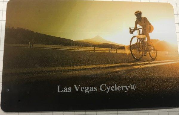 LAS VEGAS CYCLERY Gift Card Road Design