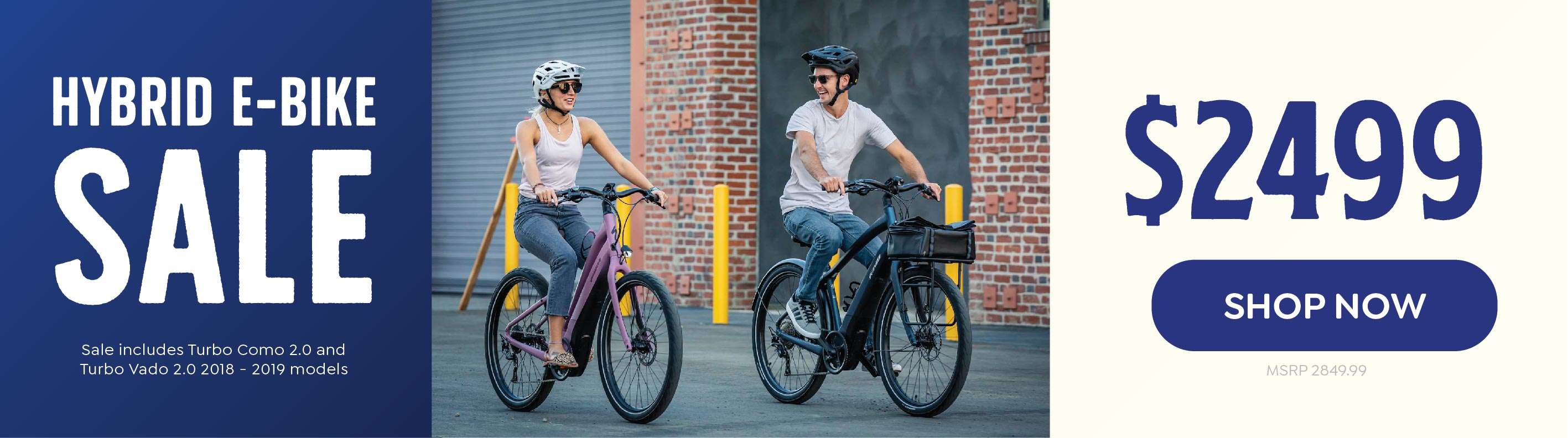 Hybrid E-Bikes Sale at Las Vegas cyclery