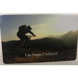 LAS VEGAS CYCLERY Gift Card Mountain Bike Design