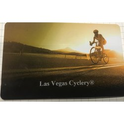 LAS VEGAS CYCLERY Gift Card Road Design