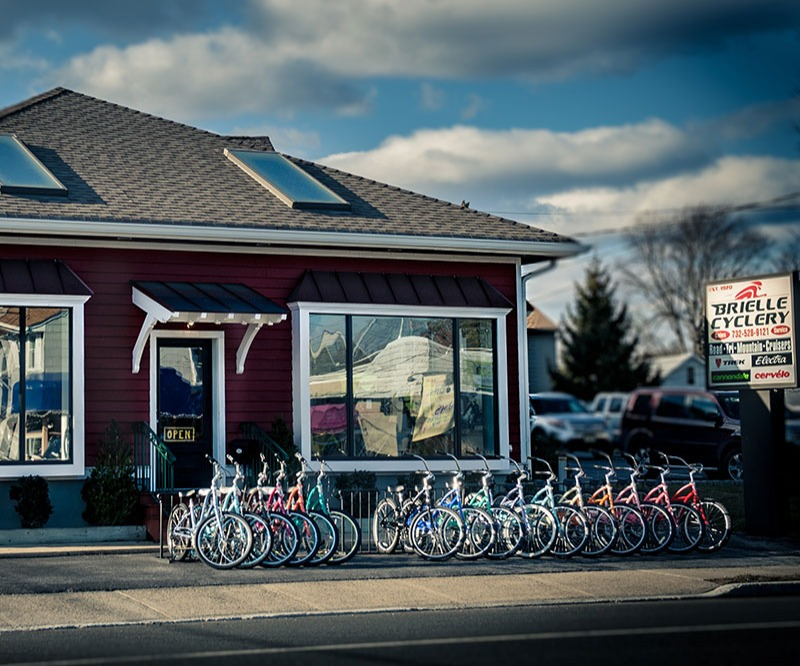 Brielle Cyclery Storefront