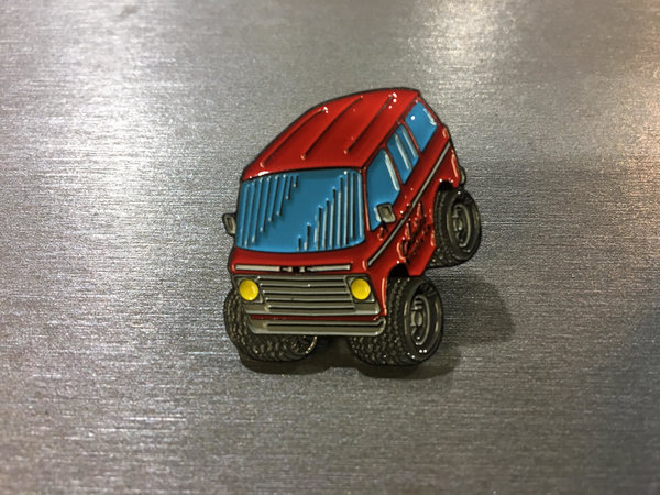 Colonial Bicycle Company The Van Collectors Pin
