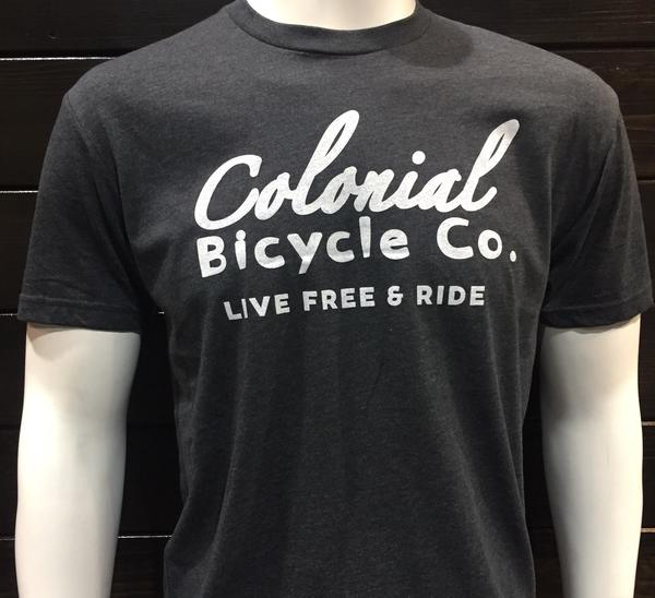 Colonial Bicycle Company Script T-Shirt
