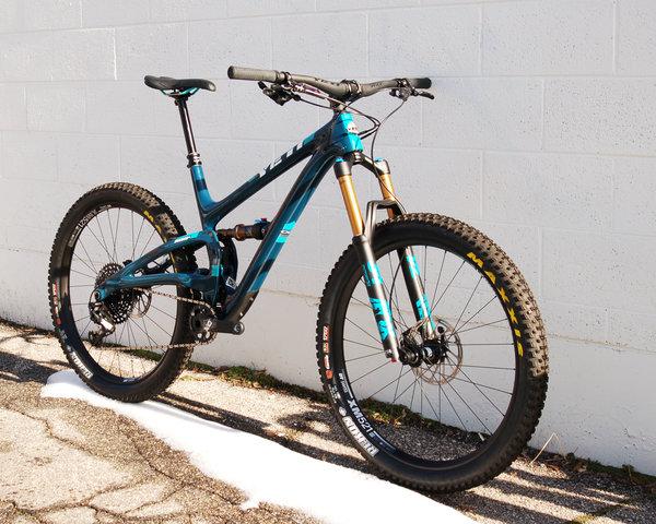 Yeti Cycles SB5+ TURQ X01