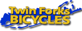 Twin Forks Bicycles Logo