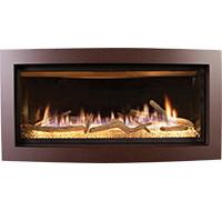 Kozy Gas Slayton 42S Contemporary Linear Fireplace