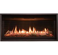 Kozy Gas Slayton 36 Linear Direct Vent Fireplace