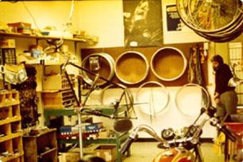 Bicycle South, Decatur Ga Service Area 1979