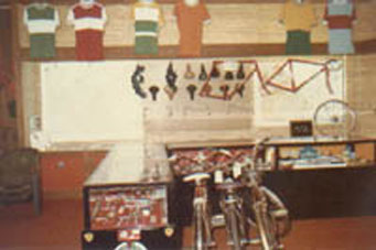 Bicycle South, Decatur Ga Store Dispaly 1984