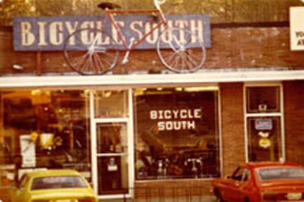 Bicycle South, Decatur Ga Storefront 1974