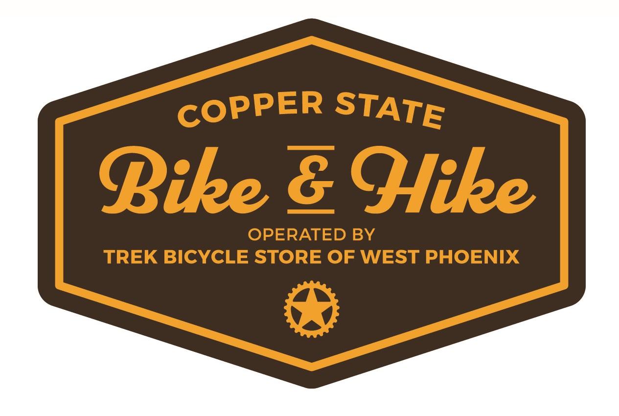 Copper State Bike and Hike Logo