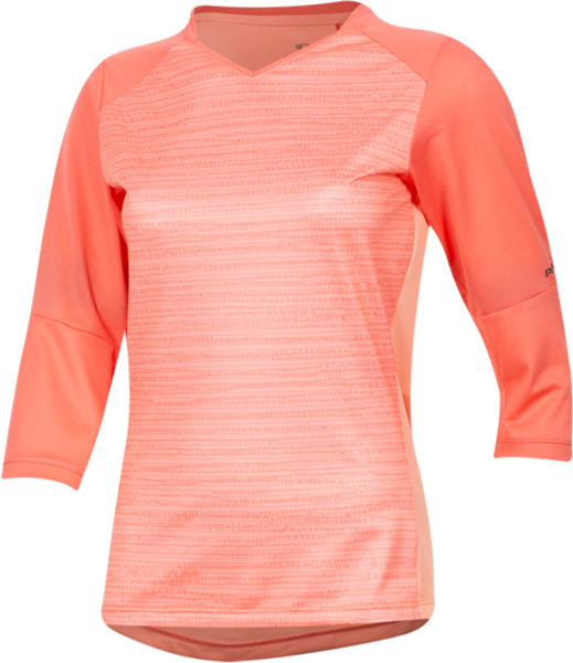 Pearl Izumi Women's Launch 3/4 Sleeve Jersey Sugar Coral/Peach Vert