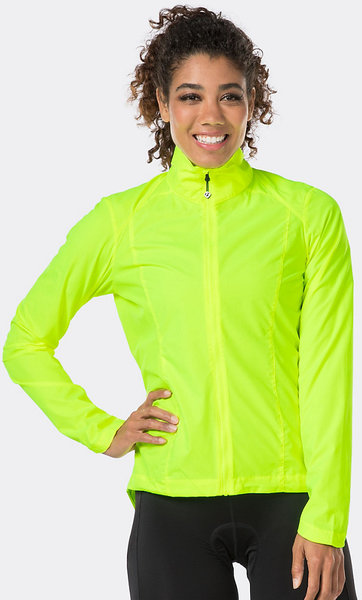 Bontrager Vella Windshell Women's Jacket Color: Visibility Yellow