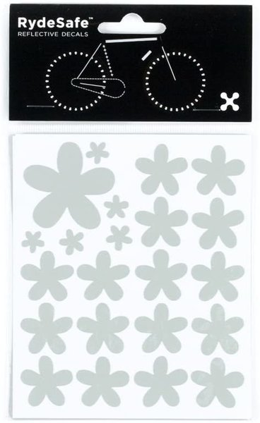RydeSafe RydeSafe Reflective Decals - Flower Kit