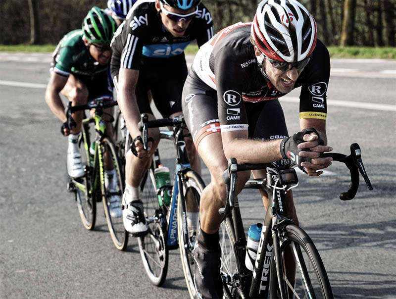 Fabian Cancellara on the new Trek Carbon Domane