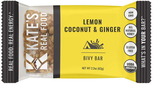 Kate's Real Food Bivy Bar - Lemon Coconut & Ginger