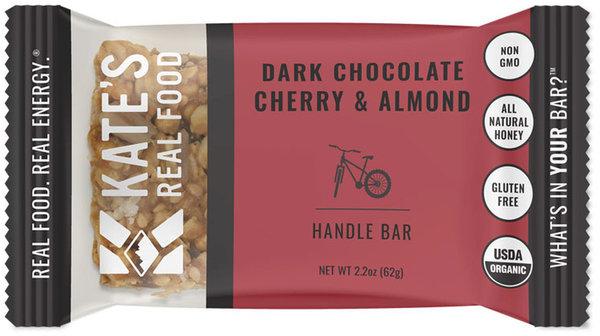 Kate's Real Food Handle Bar - Dark Chocolate Cherry & Almond