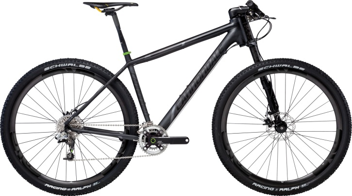 Cannondale F29 Carbon Ultimate with innovative Lefty Suspension