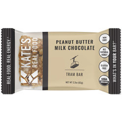Kate's Real Food Tram Bar - Peanut Butter | Milk Chocolate