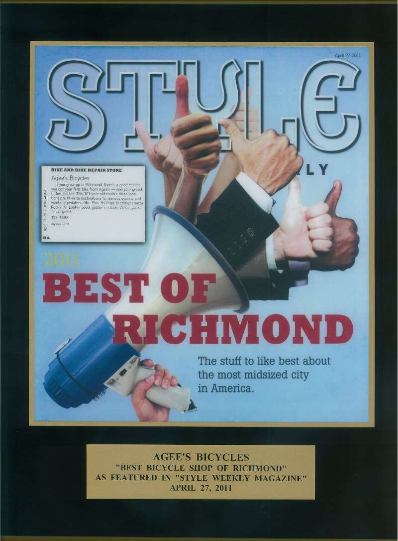 Best Of Richmond Award 2011