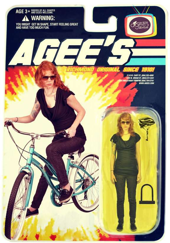 Agee's Action Figure Ad