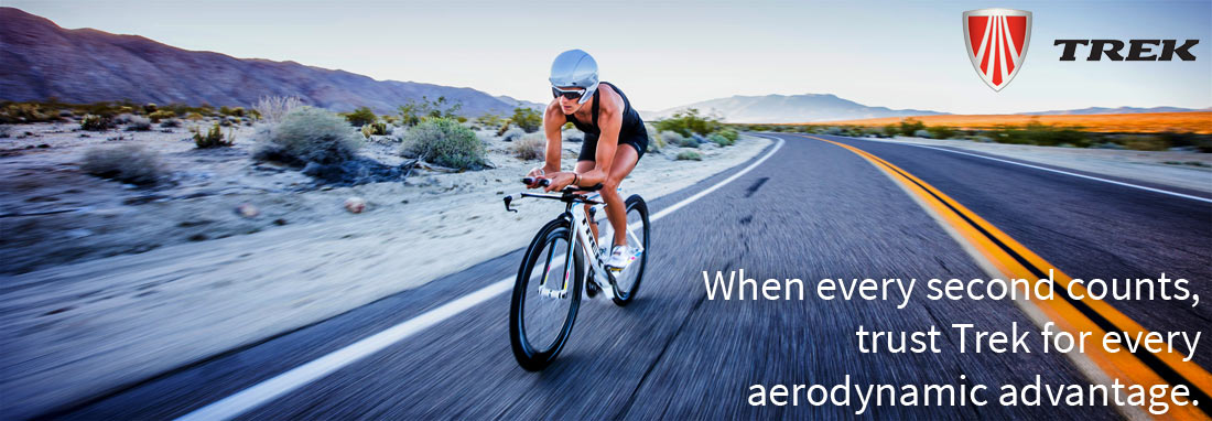 A trek bicycle will make you faster and more aerodynamic in the Ironman or sprint triathlon.