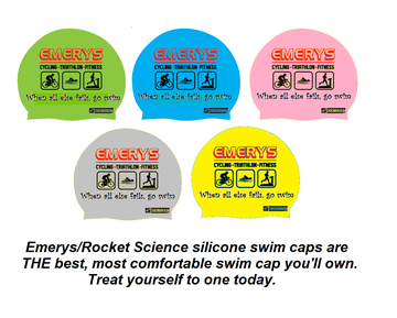 Emerys Emerys Silicone Swim Cap