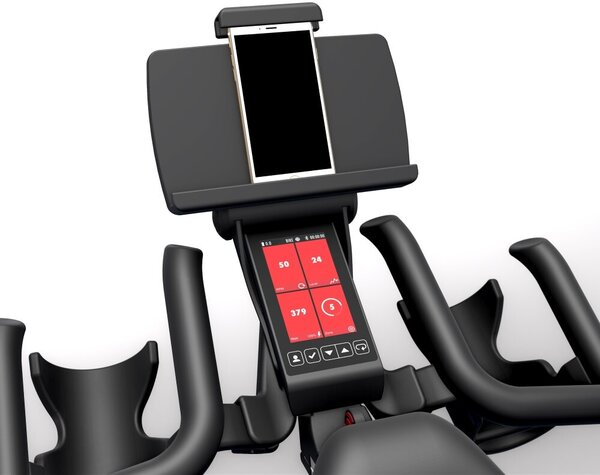 Life Fitness Bring Your Own Device Holder Universal Tablet Tray and Handlebar Bracket for IC4/5/6/7