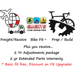 Emerys Destination / Build / Prep charge per bike $5001 and up