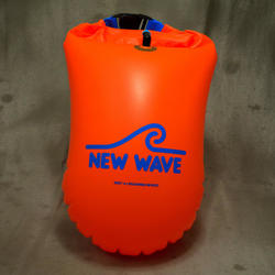 New Wave Swim Buoys New Wave Open Water Swim Buoy - Large (20 liter) - TPU Orange
