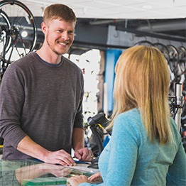Blue ridge Cyclery offers financing.
