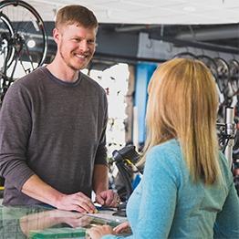 Blue ridge Cyclery offers financing.