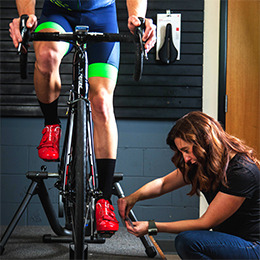 Blue Ridge Cyclery has a complete fit studio.