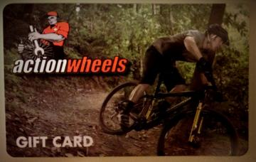 Action Wheels Gift Card