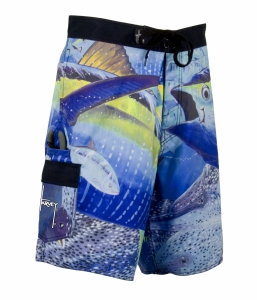 Aftco Guy Harvey Strike Board Short