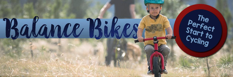 Balance bikes make a great start to cycling