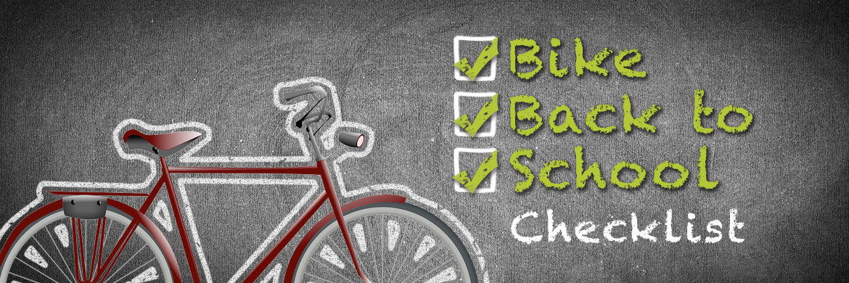 Bike back to school Checklist
