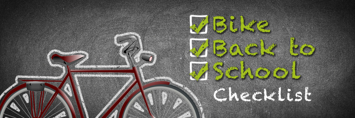 Bike Back to School Checklist at Arrow Bicycle