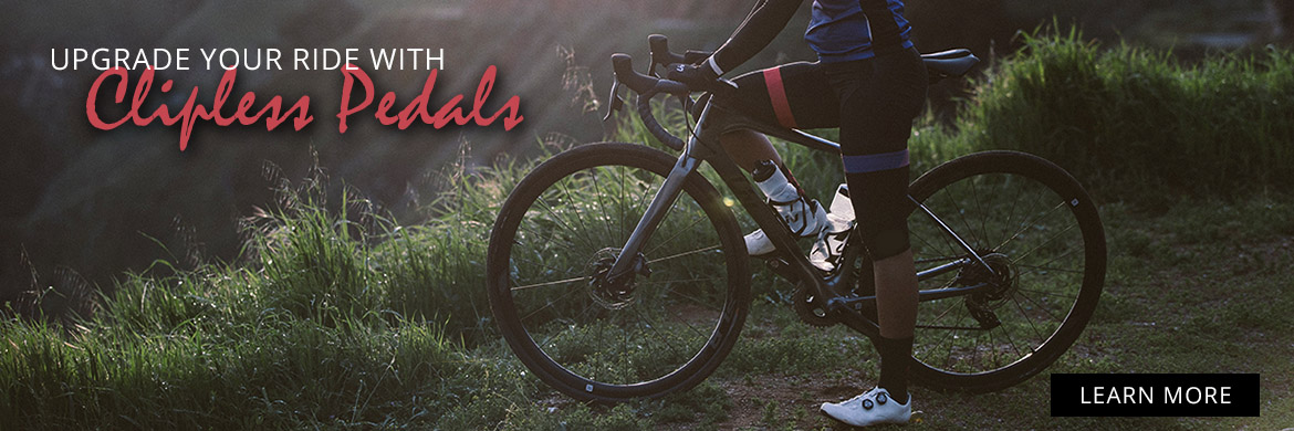 Make the switch to clipless pedals