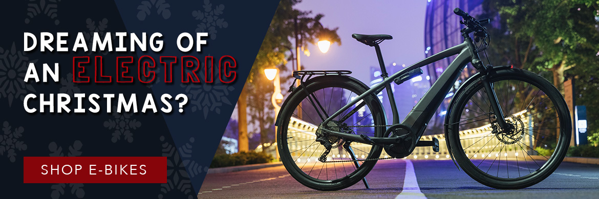 Shop e-bikes for the perfect holiday gift