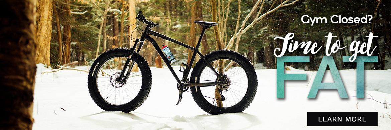 Fat Biking for Fun Winter Fitness