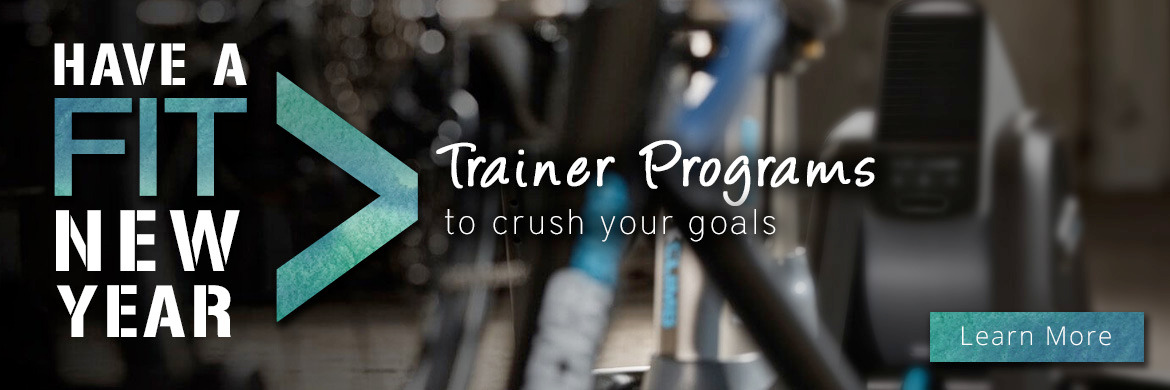 Have a fit new year with indoor trainer programs