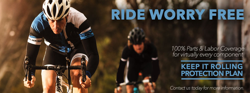Ride Worry free with the Keep it Rolling Plan from Arrow Bicycle