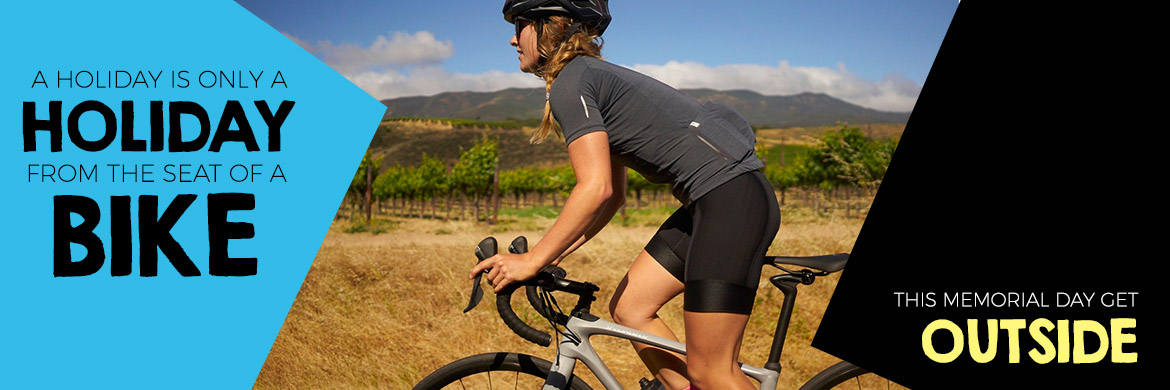Shop bikes for the holiday weekend at Arrow Bicycle
