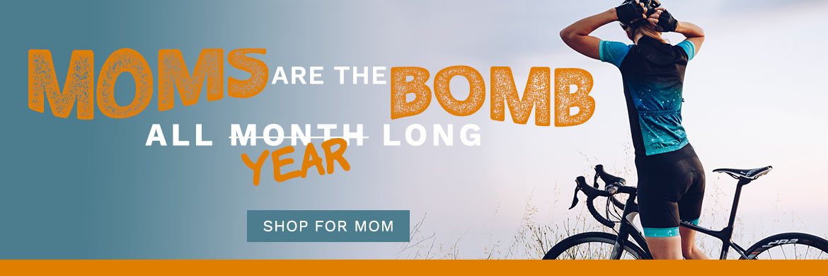 Shop cycling gear for mom at Arrow Bicycle