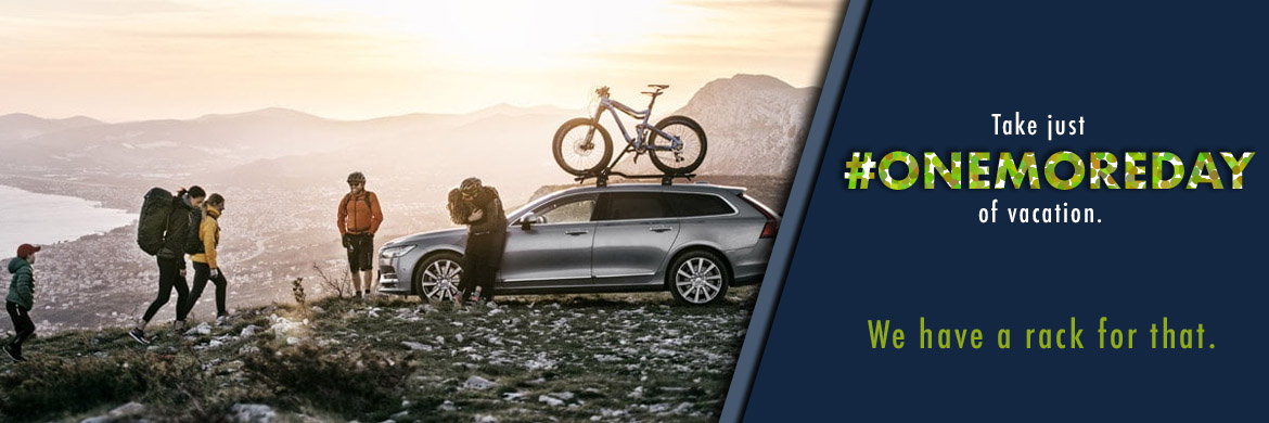 Take one more day of vacation with a car rack from Arrow Bicycle