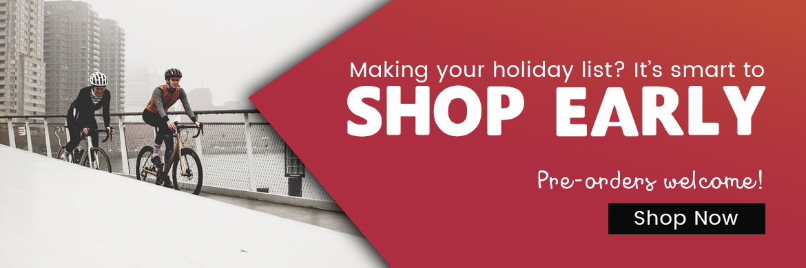 Shop early for the holidays at Arrow Bicycle!