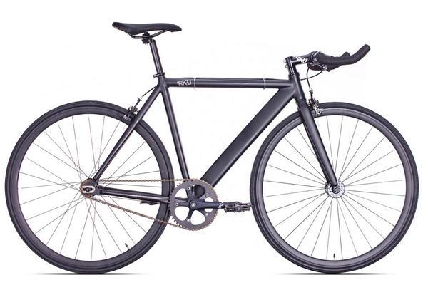 6KU Bikes Matte Black Track