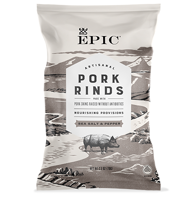 EPIC Bar Sea Salt Pepper Rinds
